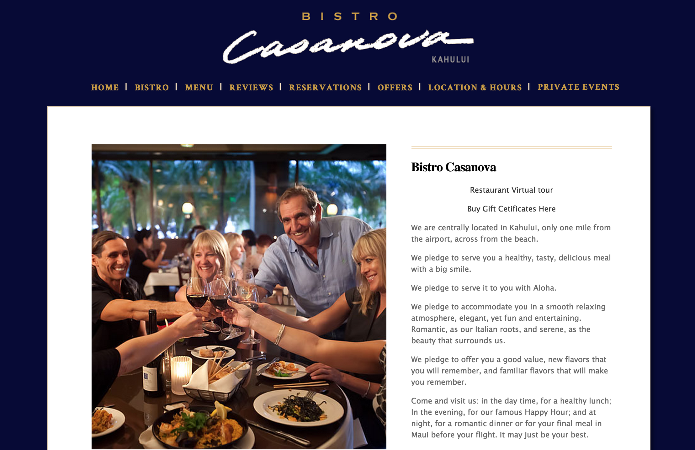 Bistro Casanova Screenshot