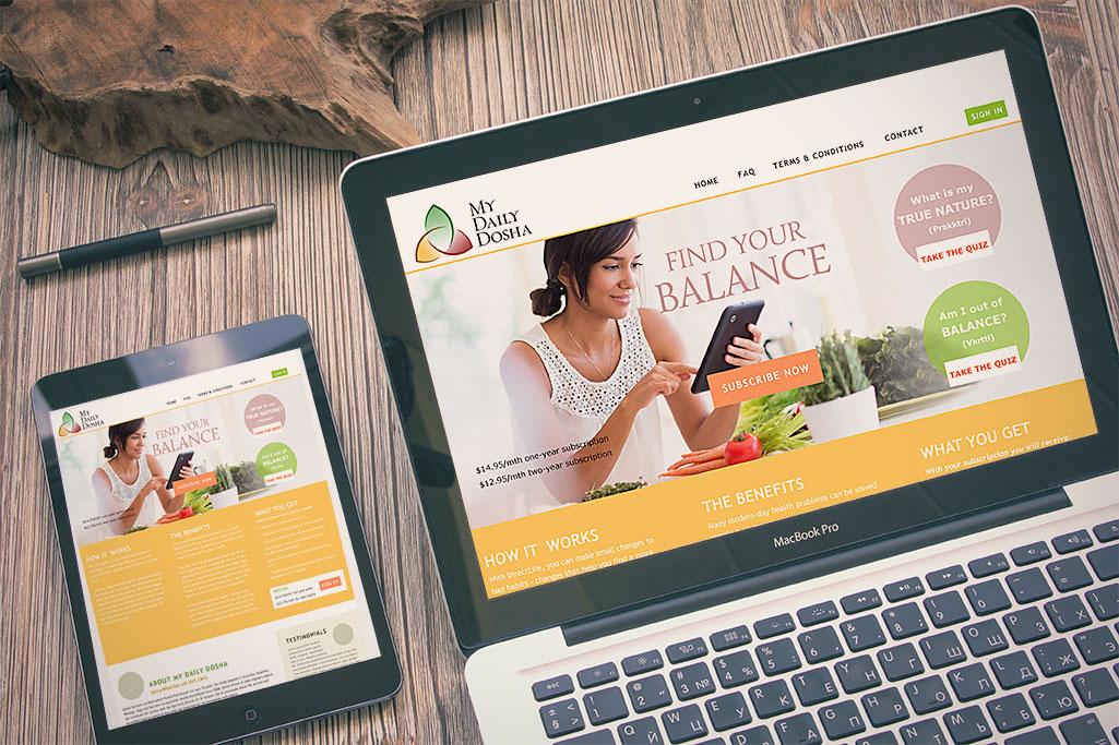 My Daily Dosha Website