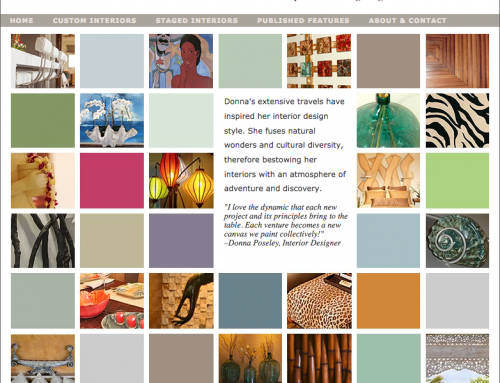 Web Design – Island Essence Interiors
