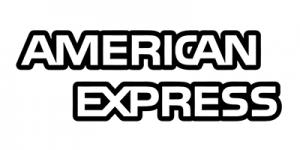 American Express b/w logo